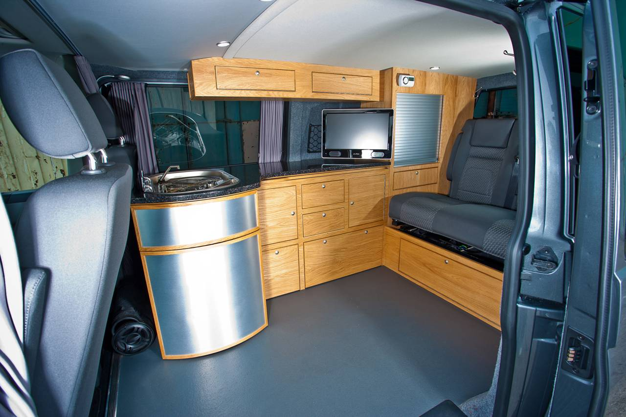 Van Conversion Interior Camper Photo Gallery