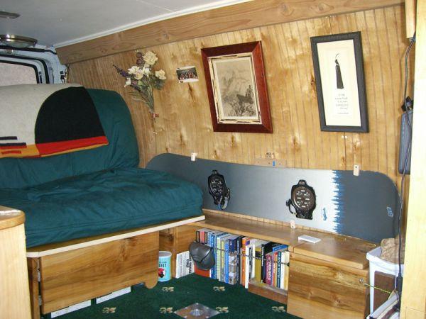 Van Conversions Camper Photo Gallery
