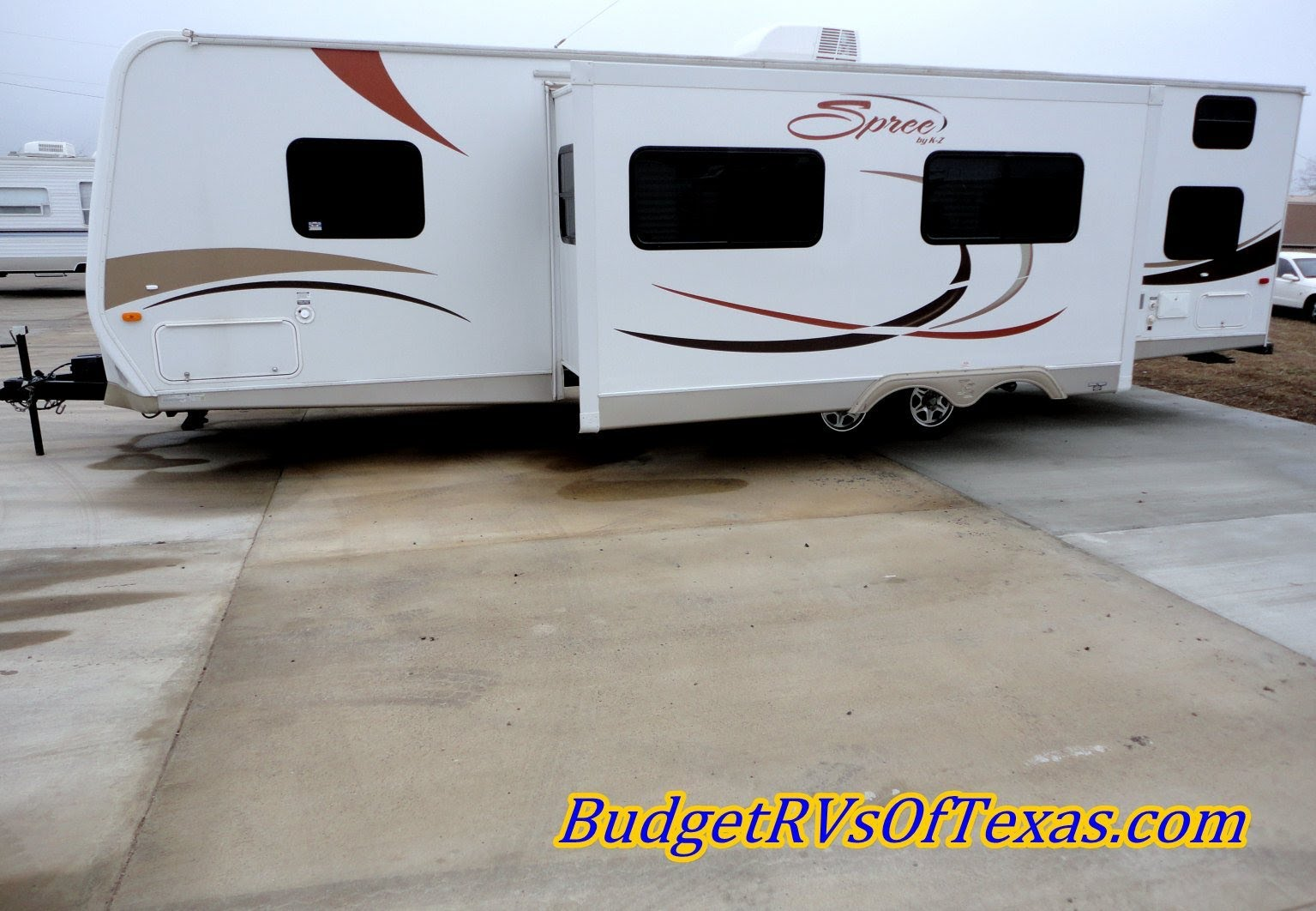 bumper pull travel trailers