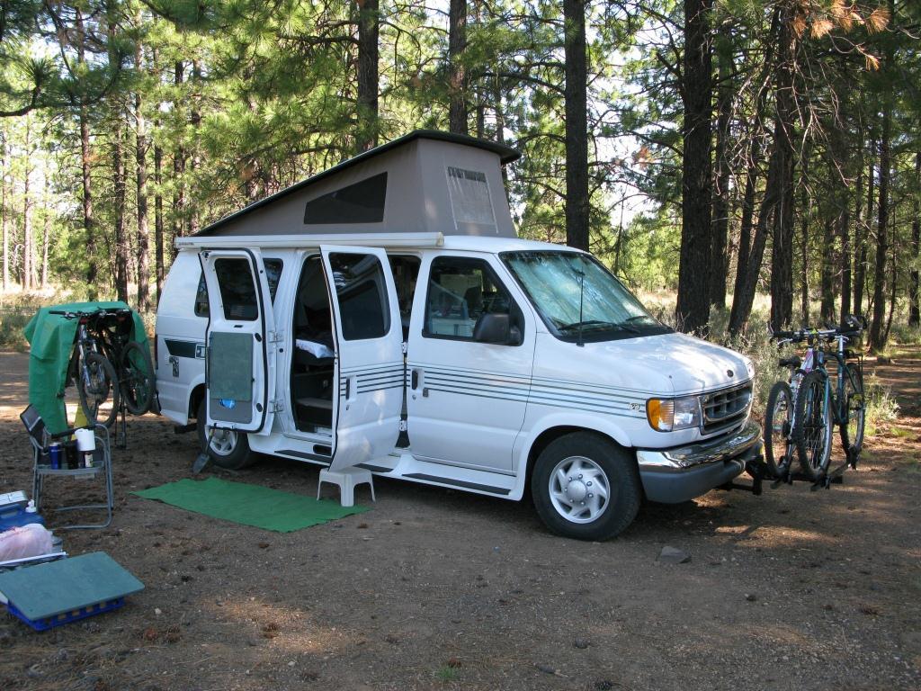 camper minivan