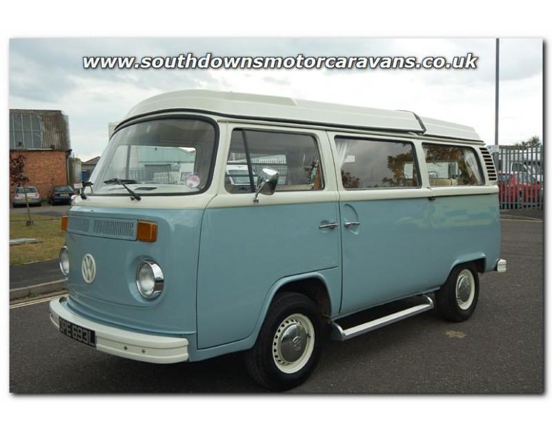 camper vans used
