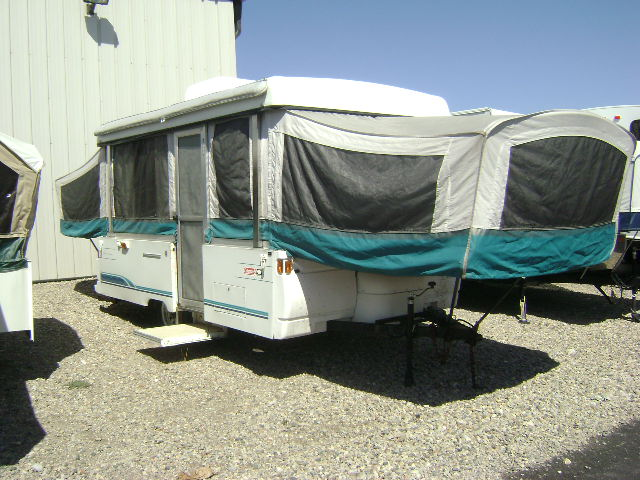 coleman pop up camper