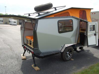 compact camper trailer