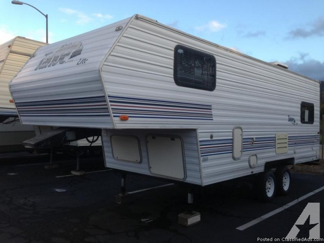fifth wheel travel trailers