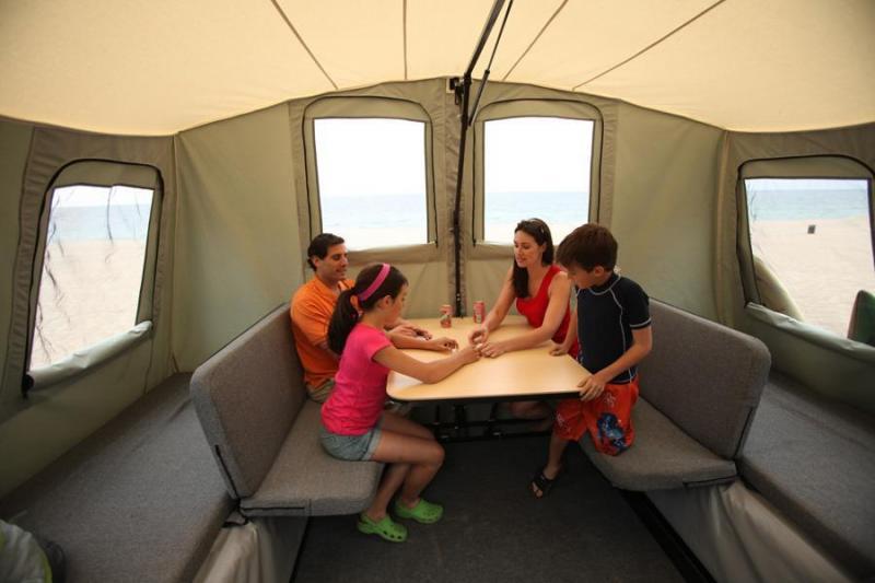 fold out camper trailer