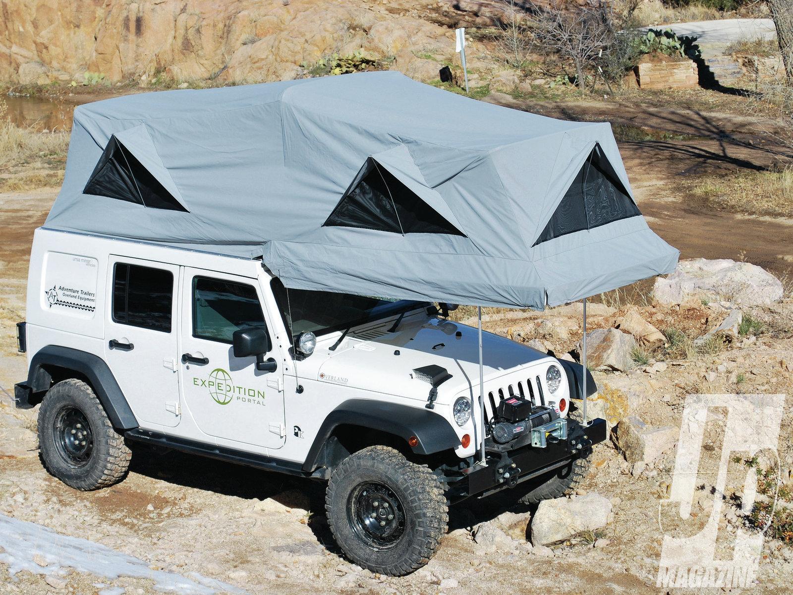 hardtop camper trailer