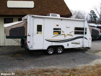 hybrid camper trailers