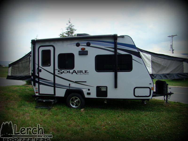 hybrid rv trailers