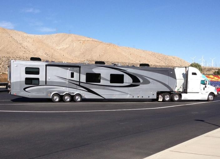large travel trailers