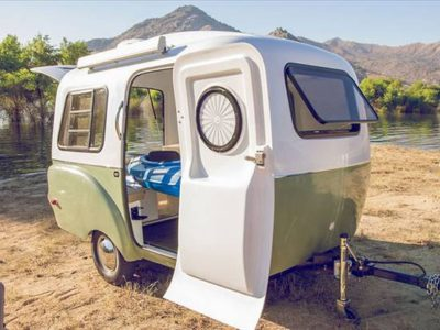 lightweight camper trailer
