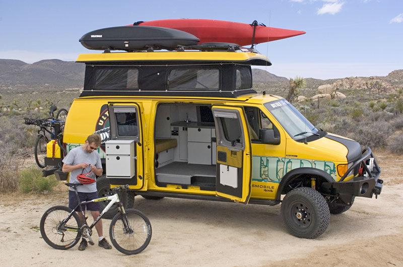 mobile camper vans