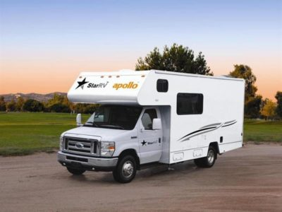 motorhome hire prices