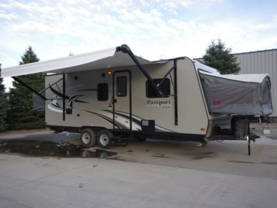 new travel trailers for sale