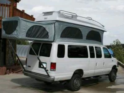 pop up camper van
