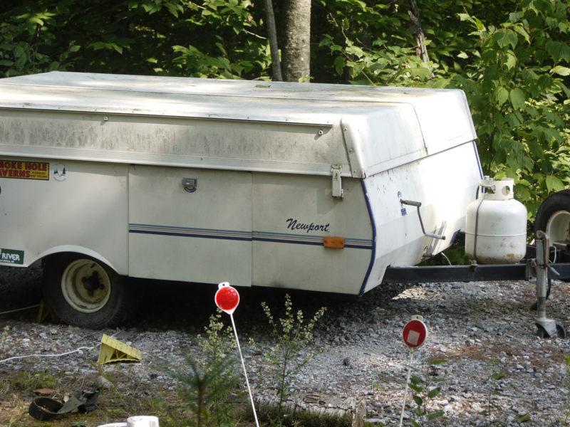 popup camper trailer