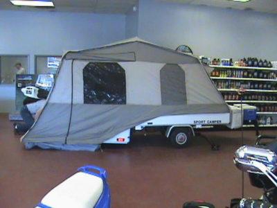 pull behind camper trailer