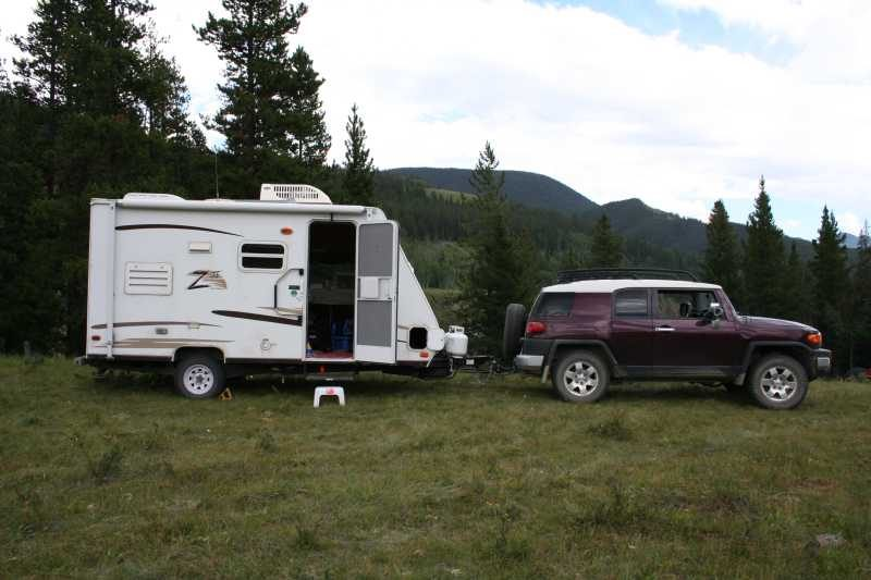 pull behind camping trailers