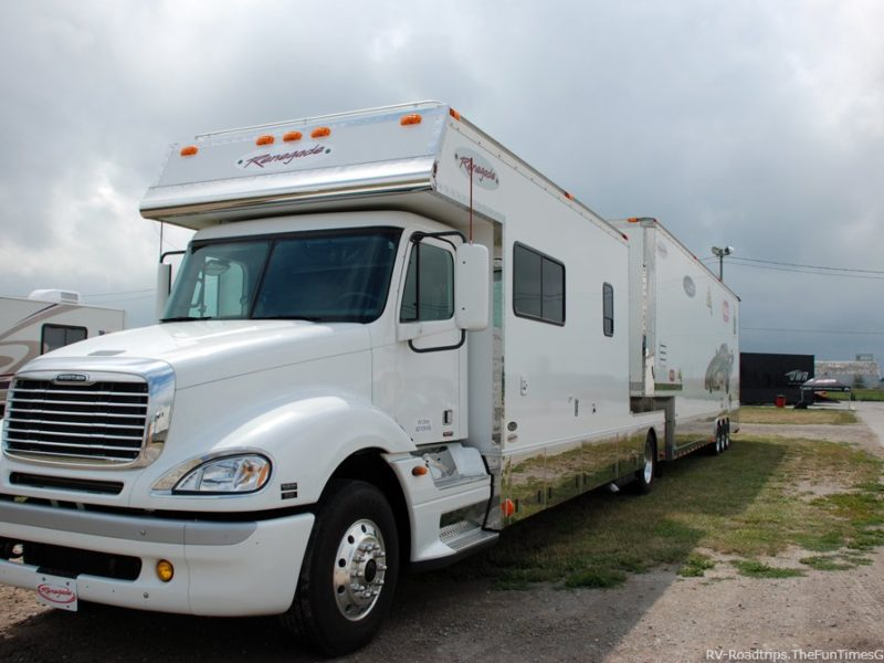 rv and trailer