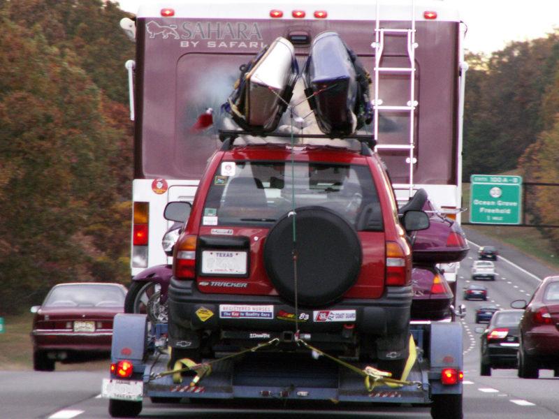 rv pull trailers