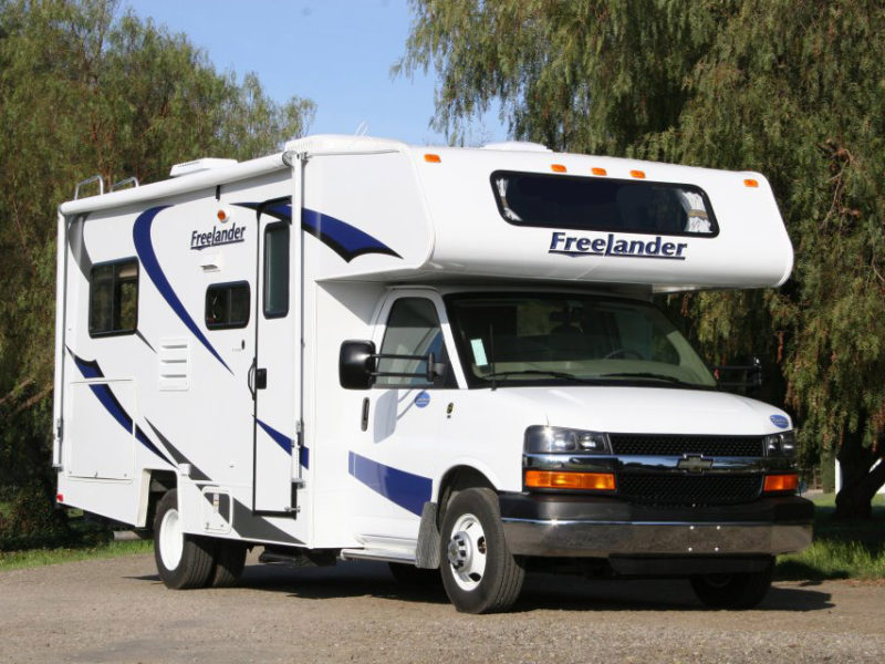 rv rental prices