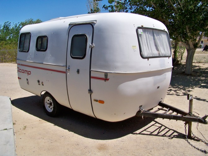 Used Tiny Camping Trailers For Sale Serro-Scotty - Scotty Pup