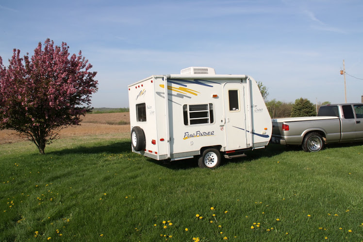 small pull behind campers for sale