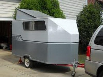 tiny camper trailer