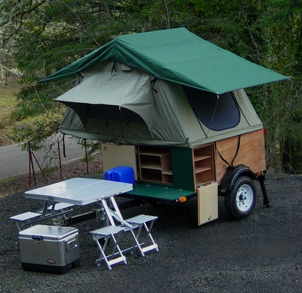 tiny camping trailers