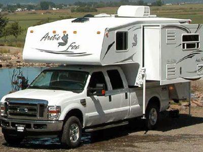 truck camper rv