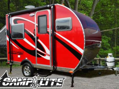 ultra light travel trailers
