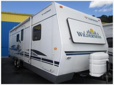 used lightweight travel trailers